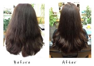 素髪ケアがもたらしてくれる髪の変化。